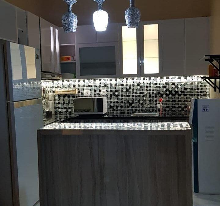 Kontraktor dan Jasa kitchen set Minimalis 2019
